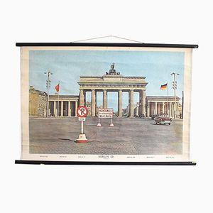 Vintage Brandenburger Tor Plakat