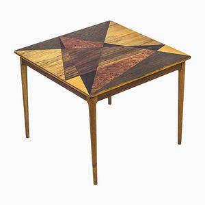 Table avec Marqueterie Géométrique de Svenska Möbelfabrikerna, Suède, 1950s