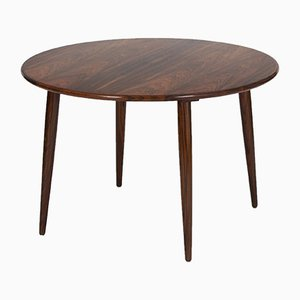 Danish Circular Coffee Table, 1960s