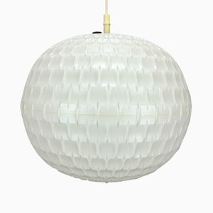 Plastic Cylindrical Ceiling Light from Erco, 1960s
