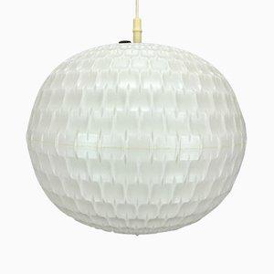 Zylindrische Plastik Deckenlampe von Erco, 1960er