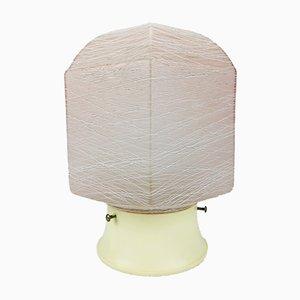 Deutsche Glas Deckenlampe von Erco, 1960er