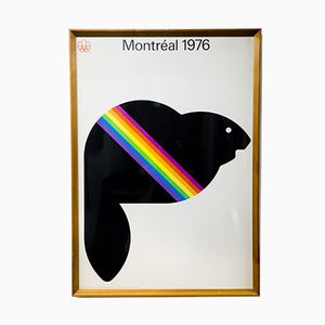 Vintage Montreal Olympics Poster, 1976