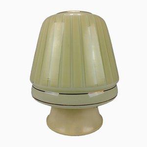 Lampada da soffitto in vetro e plastica di Erco, Germania, anni '60