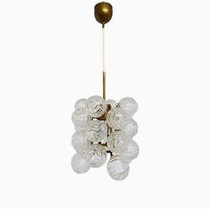 Mid-Century Atomic Ceiling Light from Doria, 1970s