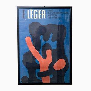 Póster vintage Fernand Léger, 1968