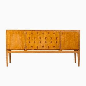 Swedish Mahogany Sideboard, 1950s