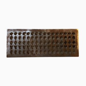 Industrial Art Deco Danish Chocolate Mold by Galle & Jessen, 1920s