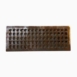 Moule pour Chocolat Art Déco Industriel par Galle & Jessen, Danemark, 1920s