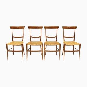 Ramba Chiavari Chair by Emanuele Rambaldi for Colombo Sanguineti, 1950s, Set of 4