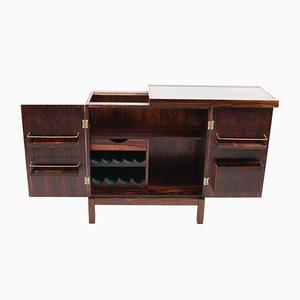 Times Rosewood Veneer Bar Cabinet by Torbjørn Afdal for Mellemstrands Møbelfabrik, 1960s