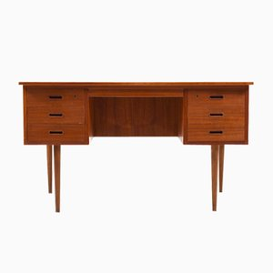 Danish Writing Desk in Teak, 1950s