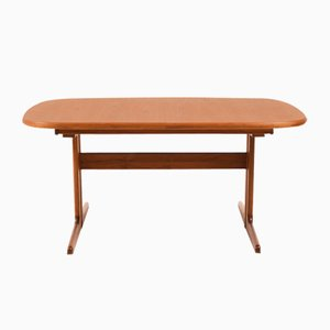 Danish Dining Table in Solid Teak, 1970s