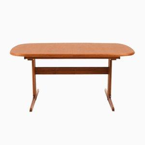 Danish Dining Table in Solid Teak, 1970s
