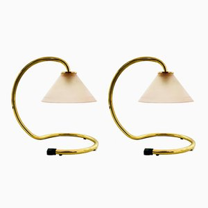 Italian Rubin Lamps by Sergio Mazza & Giuliana Gramigna for Quattrifolio, Set of 2