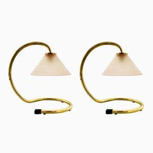 Italienische Rubin Lampe von Sergio Mazza & Giuliana Gramegna für Quattrifolio, 2er Set