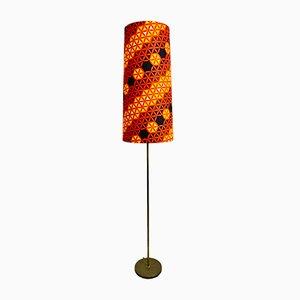 Lámpara alemana con base de cobre, años 70