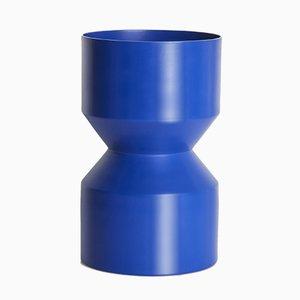Blaue Tri-Cut Vase von LLOT LLOV