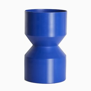 Tri-Cut Vase in Blue by LLOT LLOV