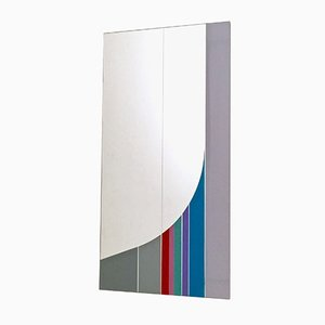 Wall Mirror by Eugenio Carmi for Acerbis International, 1984