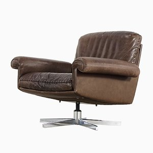 DS 31 Leather Lounge Chair from de Sede, 1975