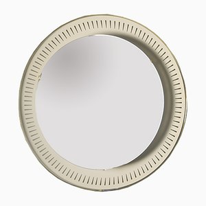 Vintage Illuminated Wall Mirror by Ernest Igl for Hillebrand