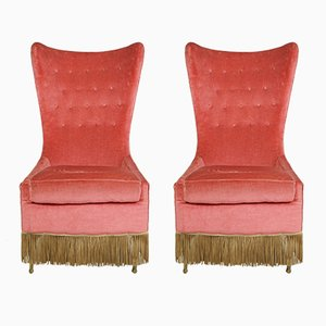 Lounge Chairs by Cesare Lacca, 1950s, Set of 2