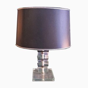 Italian Table Lamp from Cristal Art, 1960s