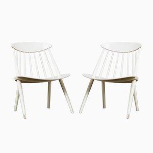 Vintage Stühle von Gillis Lundgren für Ikea, 2er Set