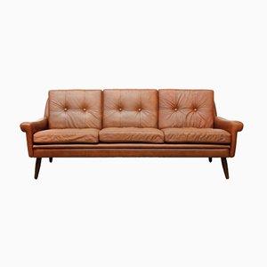 Vintage Sofa aus Leder von Svend Skipper für Skippers Møbler