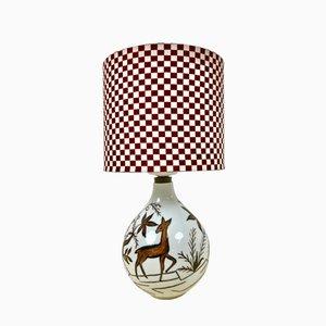 Lampe Vintage en Porcelaine de Heinrich Selb, Allemagne