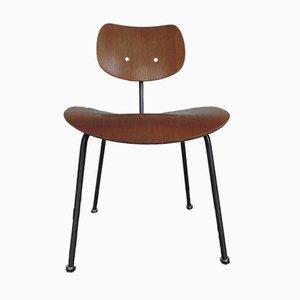 Chaise Vintage en Placage de Noyer par Egon Eiermann pour Wilde & Spieth, 1960s