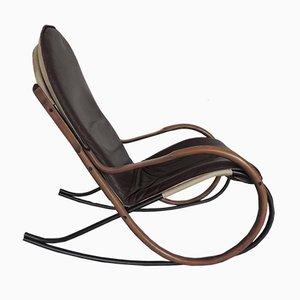 Rocking Chair Nonna Vintage par Paul Tuttle pour Strässle