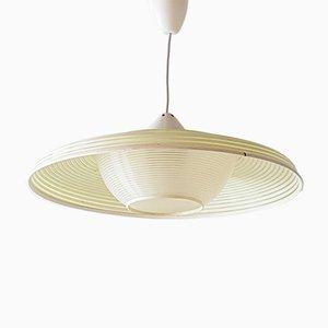 Lámpara de techo Rhodoid Mid-Century de ARP para Rotaflex Heifetz, años 60