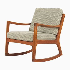 Teak Rocking Chair by Ole Wanscher for France & Søn, 1960s