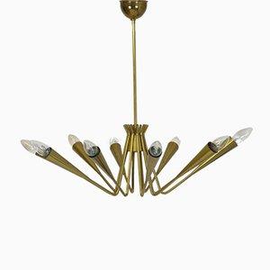 Lámpara de araña Sputnik italian, 1959