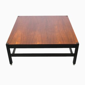 Mid-Century Italian Tivoli Coffee Table in Rosewood by Ico Parisi for M.I.M