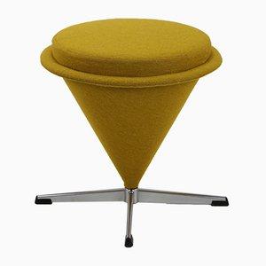 Sgabello Cone Mid-Century di Verner Panton