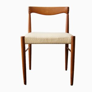 Teak Chair by H.W. Klein for Bramin, 1960s