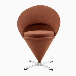 Mid-Century Cone Chair by Verner Panton