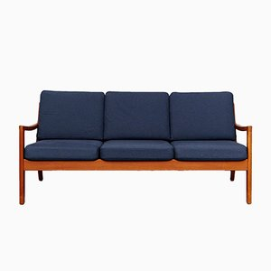Mid-Century Senator Teak Sofa by Ole Wanscher for Peter Jeppesen
