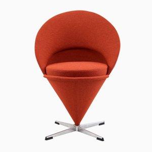 Chaise Cone Mid-Century par Verner Panton