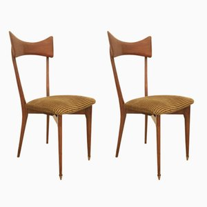 Chaises Colombus par Ico & Luisa Parisi, 1950s, Set de 2