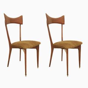 Columbus Stühle von Ico & Luisa Parisi, 1950er, 2er Set