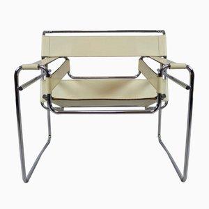 Chaise Wassily par Marcel Breuer pour Knoll Inc, 1980s