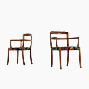 Teak Armchairs by Ole Wanscher for A. J. Iversen Snedkermester, 1965, Set of 2