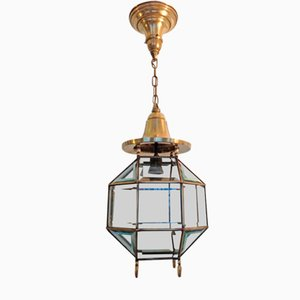 Antique Viennese Secession Ceiling Lamp