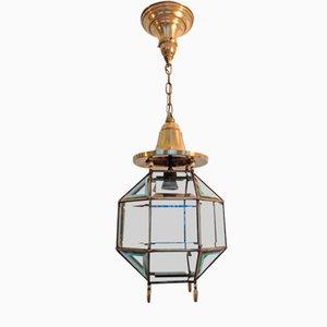 Antique Viennese Secession Ceiling Lamp