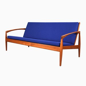 3-Seater Paperknife Model Sofa by Kai Kristiansen for Magnus Olesen, 1960s