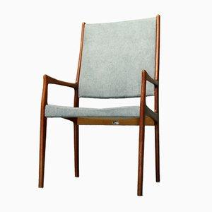Vintage Armlehnstuhl aus Teakholz von Johannes Andersen für Mogens Kold, 1970er